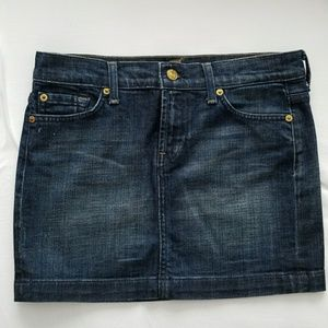 Seven for All Mankind Jean Skirt